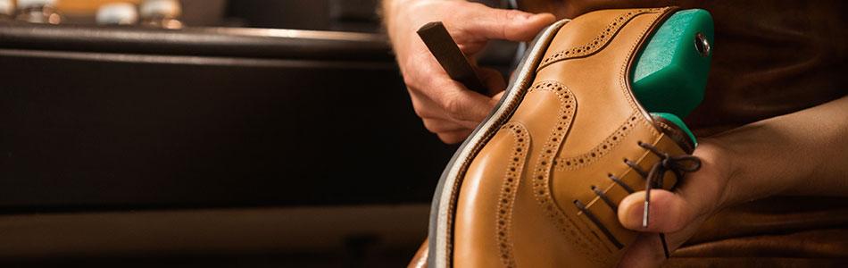 La réparation de chaussure