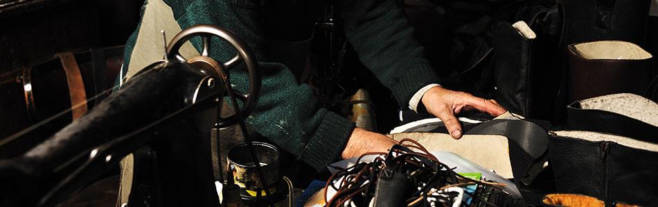 La réparation de maroquinerie