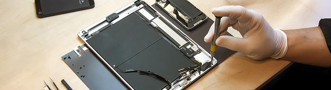 La réparation de tablette iPad et Androïd