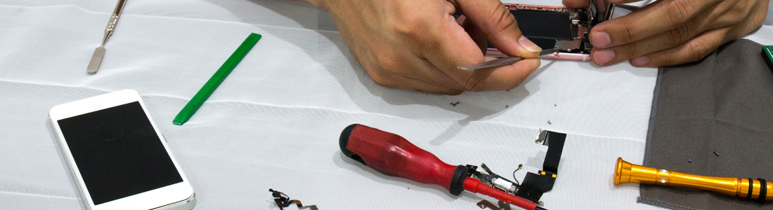 Écran cassé ou problème de batterie… les réparations de mobile