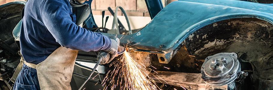 Réparation de carrosserie