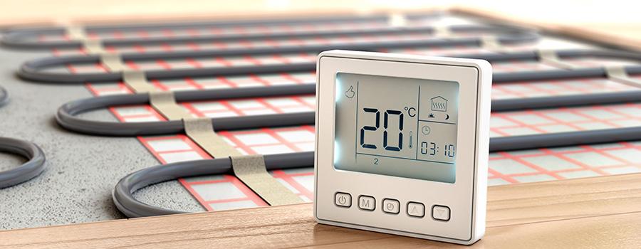 La rénovation du système de chauffage