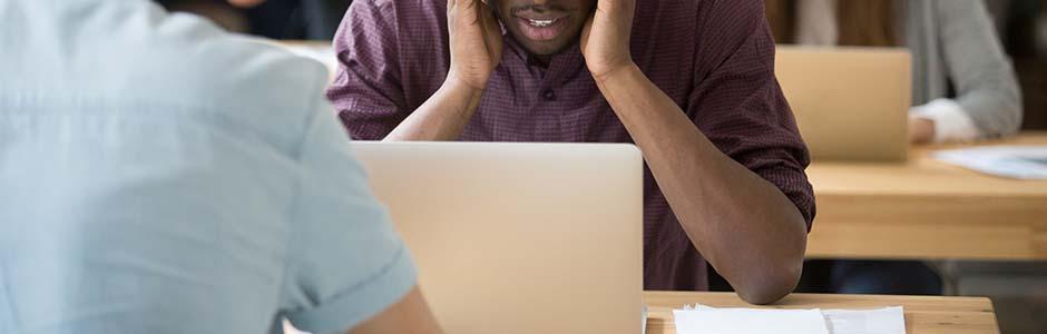 L'angoisse professionnelle et du licenciement