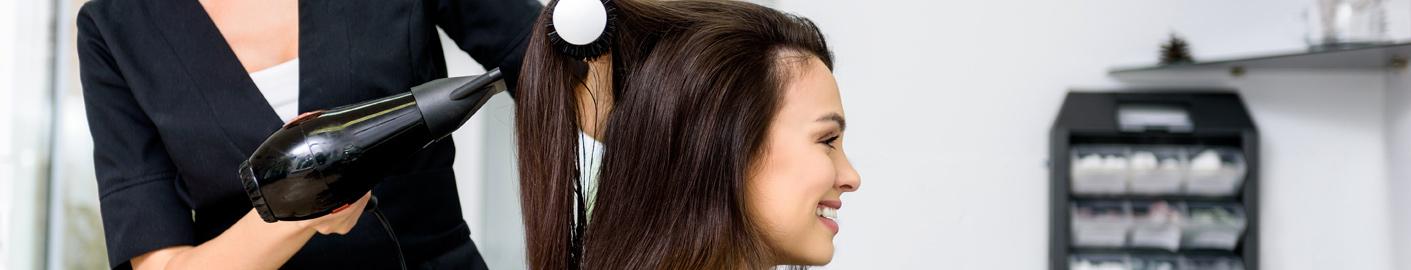 La carte en coiffure femme