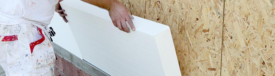 Pose de plaque de plâtre