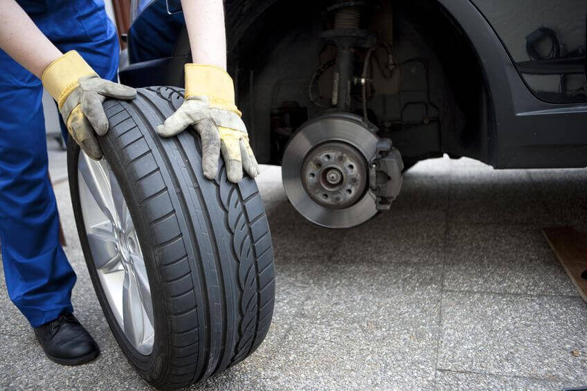Contrôler les pneumatiques